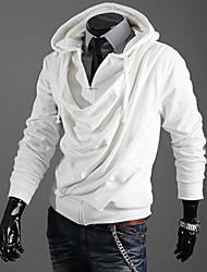 Men's Solid Color False two Hoodie Sweater
