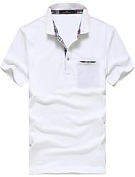 ППЗ Основные хлопок сплошной цвет футболки поло