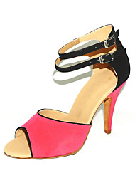 Customized Suede Latin/Ballroom Dance Performance Shoes (More Colors)
