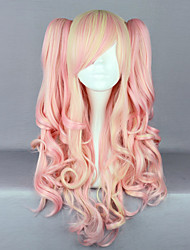 Lolita Wigs Sweet Lolita Lolita Long / Curly Pink Lolita Wig 70 CM Cosplay Wigs Solid Wig For Women