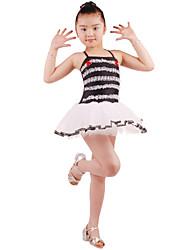 Poliéster dancewear adorável e Spandex Ballet Vestido Dança para Crianças