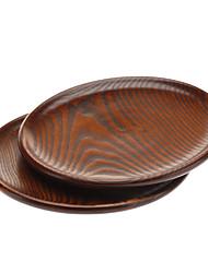22 centimetri di legno piatto piano (2 pezzi)