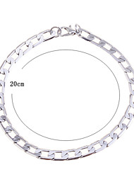 Lureme®Men's Chain Link Bracelet