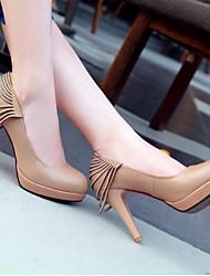 AME Rhinestone Tassel High Heel Zweep Shoes