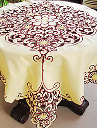 As per picture Polyester Square Table Cloths