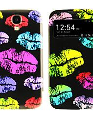 Lip Print Pattern com o processo de janela para Samsung i9500 S4