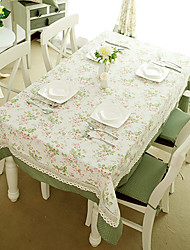 French Country Style Poly/Cotton Table Cloths