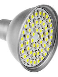 48x3528SMD MR16 3W 145-195LM 6000-6500K Natural White LED Bulb Pontual (12V)