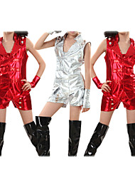 Jazz Performance Dancewear Cotton with Sequins Jazz Dance Outfits For Children(More Colors)
