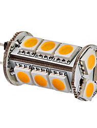 G4 3W 15x5050SMD 150-180LM 3000-3500K Warm White Light LED Corn Bulb (12V)