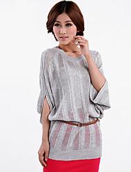 Women's Tops & Blouses , Knitwear Casual LanShanhu