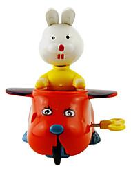 Stem Winding up White Rabbit Flying a Plane
