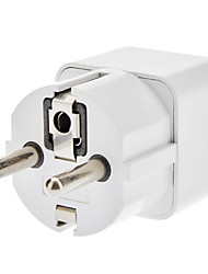 EU Travel AC Power Adapter White