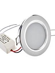 """2.5 """"24x2835SMD 4W 200-220LM 5800-6500K Белый свет природных светодиодные потолочные лампы (110-240V)"""