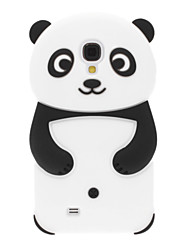 Panda Design Silicone Soft Case for Samsung Galaxy S4 I9500