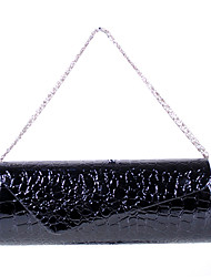 YFALAN Fashion Zhuxiu Krokodil Venen Clutch Bag (Schwarz)