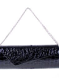 YFALAN Moda Zhuxiu Crocodile Vene Pochette (Nero)