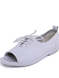 Mallboll White Fish Mouth Shoes