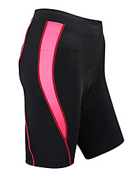 Santic Women's Cycling Shorts/bike shorts/chamois (Red) LC05039R- Summer Coolmax Breathable Pants(Red)