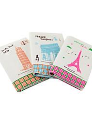 Scenario di Parigi Biancheria Credit Card Case (colore casuale, per 12 carte)