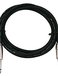 DT - (DFS220-3H) 3 Meters Guitar Cable with Plastic Plug (Soft Flexible Low attenuation Micro-bubbles)