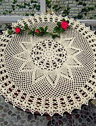 Conjunto de 2 Modern Style padrão floral de algodão pano de tabela