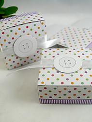 Belle boîte Cuboid avec ruban (ensemble de 20)