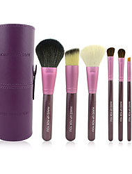make-up pour vous 7pcs portable maquillage violet Brush Set