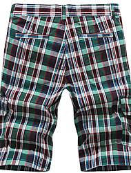 Mantas de praia dos homens calças cortadas Peridot