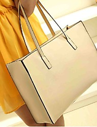 Stylish Leatherette Casual/Shopping Top Handle Bag/Totes