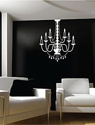 Lustre Lampe Wall Sticker