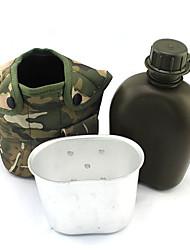 1L militaire bouteille d'eau w / Cantine & PouchHUI-36107