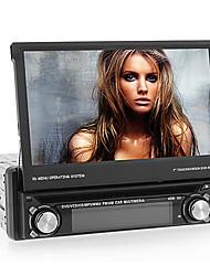 Android 4.0 1Din 7 pulgadas de coches reproductor de DVD con adaptador Wifi Ayuda GPS, TV, BT, Wifi, iPod, FM