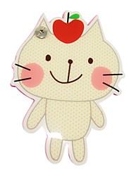 Bege Capa Pattern Cat prego Notepad fixo