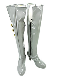 The Super Dimension Fortress Macross Sheryl Nome Gray Shiny Cosplay Boots