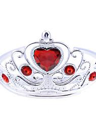 Red Diamond Princess Crown Halloween Headpiece(1 piece)