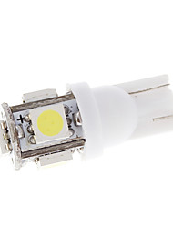 5 LED T10 Wedge 5050 Bulb Car turno viragem Luz 2 Pcs