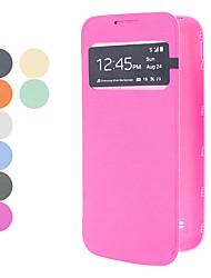 einfarbig s Sichtfenster für Samsung-Galaxie i9190 s4 Mini (verschiedene Farben)