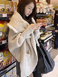 Women's Beige Cardigan , Casual Long Sleeve