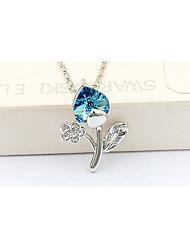 madou Prinzessin Blue Leaf kurze Halskette
