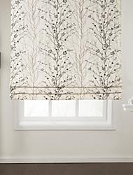 elegant wintersweet Baumwolle Raffvorhangs