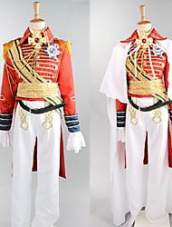Costumes de Cosplay / Costume de Soirée Soldat/Guerrier / Costumes de carrière Fête / Célébration Déguisement Halloween Rouge Mosaïque