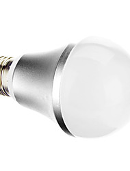 E27 A60 7W 46x2835SMD 650LM 6000K Cool White Light LED Ball Bulb (220-240V)