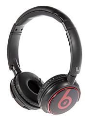 MP3 FM Bluetooth On-Ear avec fente pour carte TF B-8003 (Black)