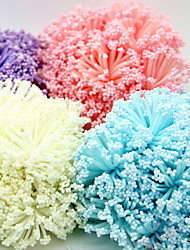Wedding Décor Pretty Plastic Foam Flower Decoration / DIY Accessories - Set of 60 Pieces (More Colors)