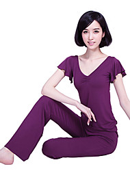 Ballroom Dancewear Modal Yoga-Outfits für Damen mehr Farben