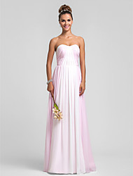 Military Ball / Formal Evening / Wedding Party Dress - Multi-color Plus Sizes / Petite Sheath/Column Sweetheart Floor-length Chiffon