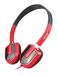 Stereo Music 3.5mm On-Ear Headphone DM-3200 (Black,Red,White)