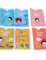 Дело печенье девочка шаблон кредитной карты всего тела (случайный цвет)