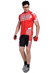 MYSENLAN Brilliance Dreidimensional Schneiden Cooldry Radfahren Männer Suits (T-Shirt + Short Pants)